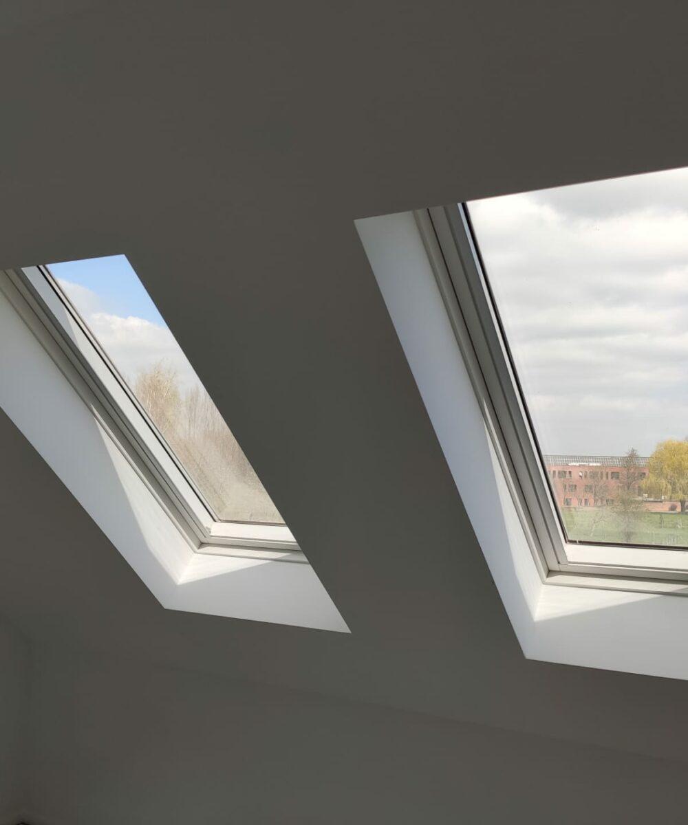 BBS rooflights under construction